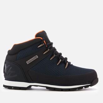 Timberland Men's Euro Sprint Waterproof Hiker Style Boots - Navy