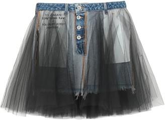 Ben Taverniti Unravel Project BEN TAVERNITITM UNRAVEL PROJECT Denim skirts