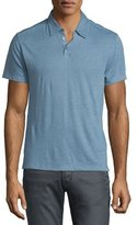 John Varvatos Short-Sleeve Polo Shirt, Water