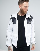 The North Face 1985 Mountain Jacket Hooded in White/Black