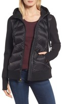 MICHAEL Michael Kors Women's Hooded Down & Neoprene Jacket