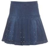 McQ by Alexander McQueen Embellished Denim Skirt