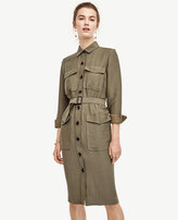 Ann Taylor Safari Trench Dress