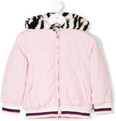 Kenzo reversible Tiger logo coat - kids - Cotton/Acrylic/Polyester - 4 yrs