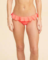 Hollister Ruffle Original Cheeky Bikini Bottom