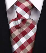 Scott Allan Collection Scott Allan Mens Plaid Necktie