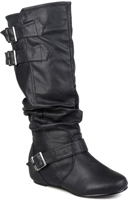 Journee Collection Tiffany Slouchy Riding Boot