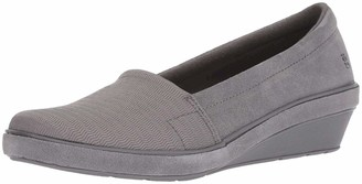 Grasshoppers Women's Chase Wedge Suede Shoe