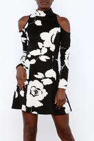 Aryeh Fit Flare Dress