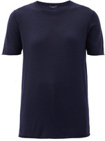 Joseph Relaxed-fit Cashmere T-shirt - Womens - Navy