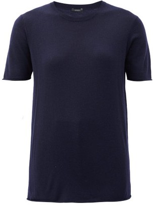 Joseph Relaxed-fit Cashmere T-shirt - Navy