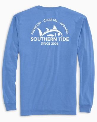 Southern Tide Rising Skipjack Long Sleeve Heather T-Shirt