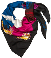 Diane von Furstenberg Woven Silk Scarf