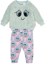 Peter Alexander peteralexander Baby Girl Happy Monster Pj Set