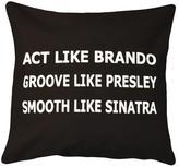 Apt2B Act Like Brando Toss Pillow