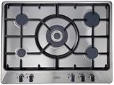 Belling GHU70GC 70cm Built-in Cast Iron Gas Hob - Stainless Steel
