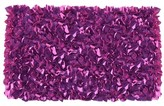The Well Appointed House Child's Shaggy Raggy Rug in Plum-Available in Two Different Sizes