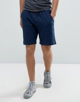 Farah Tarrant Sweat Shorts Drawstring In Navy Marl