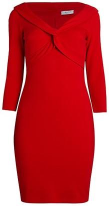 Bailey 44 Decollete Twist-Front Dress