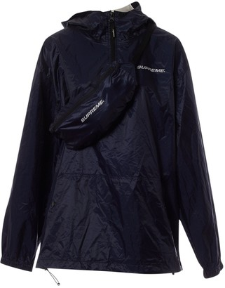 Supreme Navy Synthetic Jackets