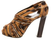 Pierre Hardy Caged Ponyhair Pumps
