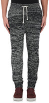 John Elliott Men's Wool-Blend Mélange Sweatpants