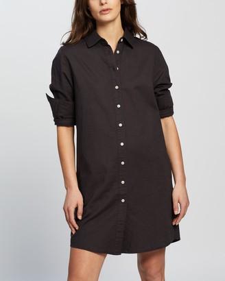 Nude Lucy Poppy Shirt Dress