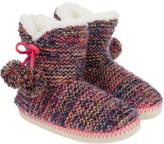 Accessorize Agnes Multi Coloured Slipper Boots