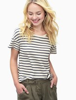 Splendid Sequoia Stripe High Low Tee