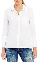 Chelsea & Violet 3/4-Sleeve Button-Front Shirt