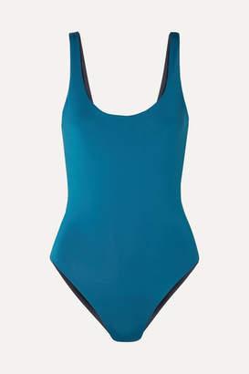 Skin - The Lana Reversible Swimsuit - Teal