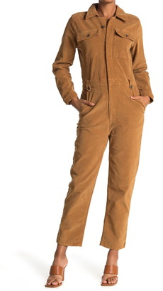 Frame Caitlin Corduroy Coverall Jumpsuit