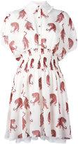 Giamba tiger print shirt dress - women - Silk/Polyester - 38
