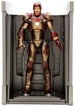 Disney Iron Man Mark XLII Armor Action Figure - Marvel Select - 7 1/2''