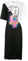 Stella McCartney multi-print T-shirt dress - women - Cotton - 40