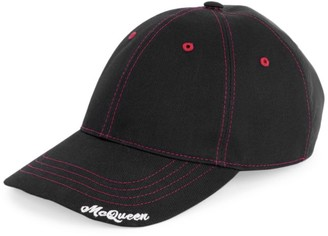 Alexander McQueen Hybrid Logo Baseball Cap