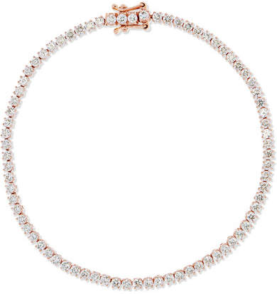 Anita Ko Hepburn 18-karat Rose Gold Diamond Bracelet