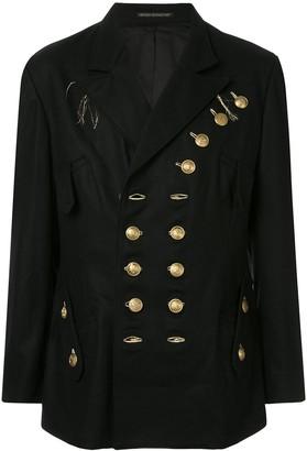 Yohji Yamamoto military blazer