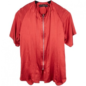 Louis Vuitton Red Viscose Shirts