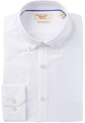 Original Penguin Oxford Solid Heritage Slim Fit Dress Shirt