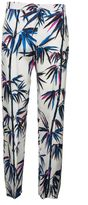 Emilio Pucci Mixed Print Trousers