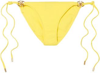 Melissa Odabash Bahamas Embellished Low-rise Bikini Briefs