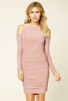 Forever 21 FOREVER 21+ Contemporary Ruched Dress