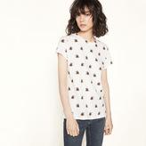 Maje Printed jersey T-shirt
