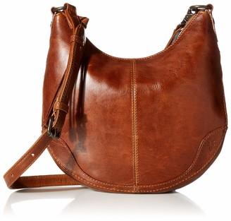 Frye Women's Melissa Small Zip Scooped Hobo Crossbody Bag Cross Body