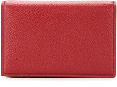 Smythson snap button wallet