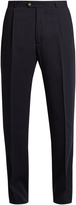 ÉDITIONS M.R Tapered-leg wool trousers