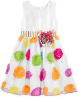 Bonnie Jean Birthday Dot Party Dress, Toddler & Little Girls (2T-6X)