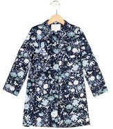 Gucci Girls' Structured Floral Print Coat