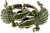 Kenneth Jay Lane Alligator Cuff Bracelet
